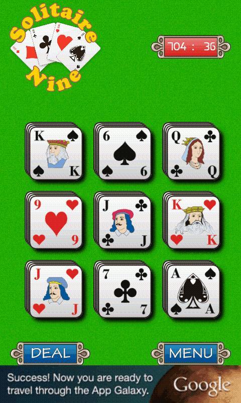 Solitaire Free 9- screenshot