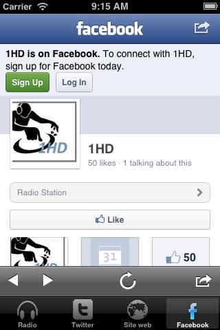 1HD Radio - screenshot