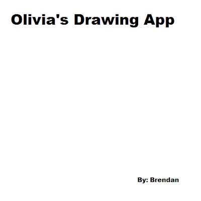 Olivia's Drawing App