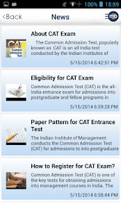 CAT MBA Exam Prep by MingleBox- screenshot thumbnail