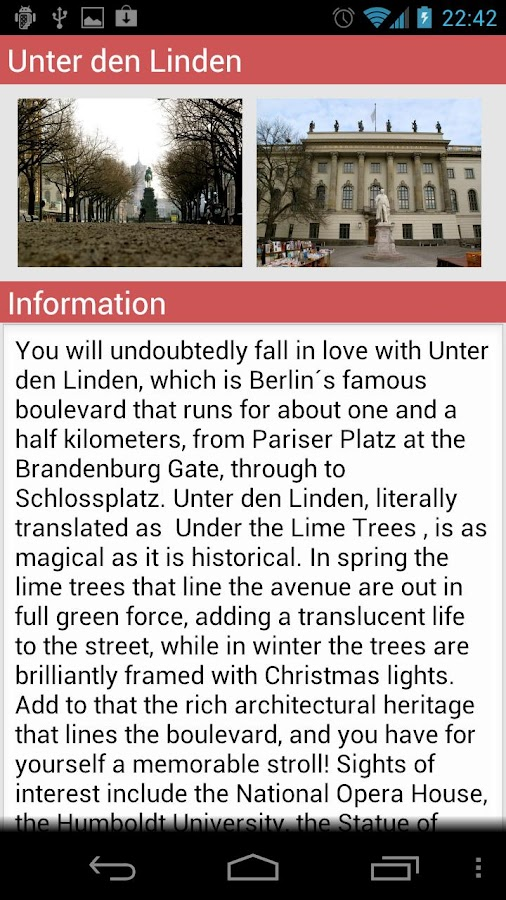 Circus Berlin Guide - screenshot