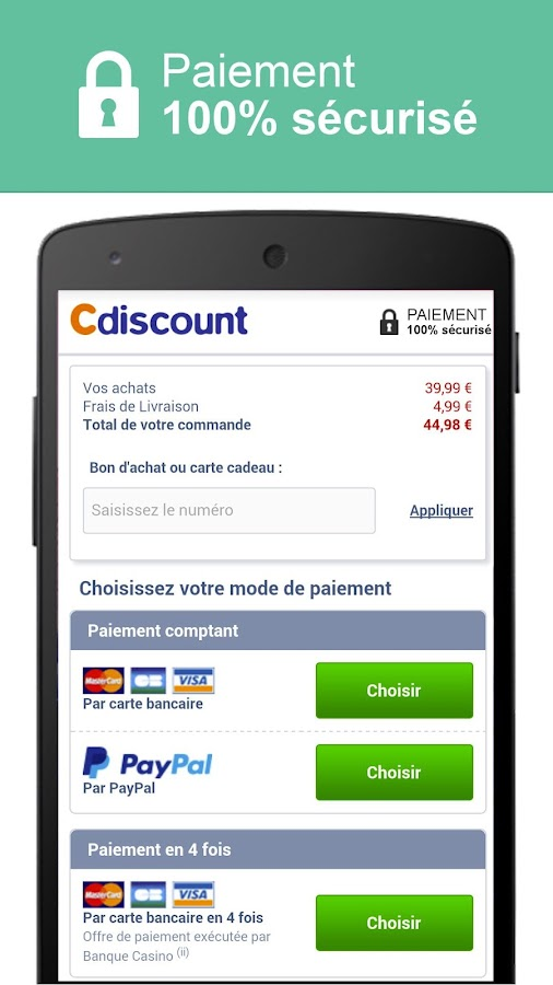 Cdiscount - Shopping mobile - screenshot