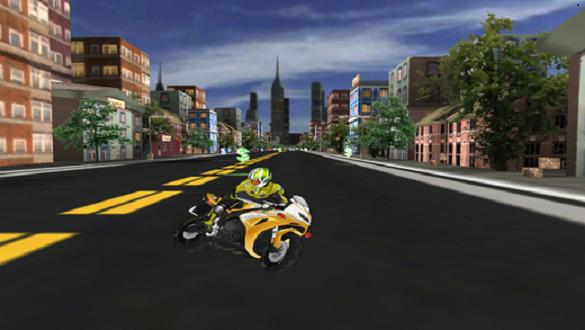 Night Moto Traffic Racer 3D - screenshot