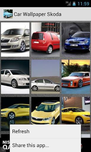 Car Wallpaper Skoda