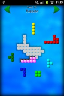 Shape Fitter Free puzzle game - screenshot thumbnail