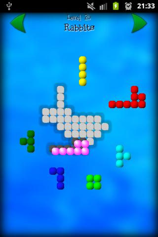 Shape Fitter Free puzzle game- screenshot