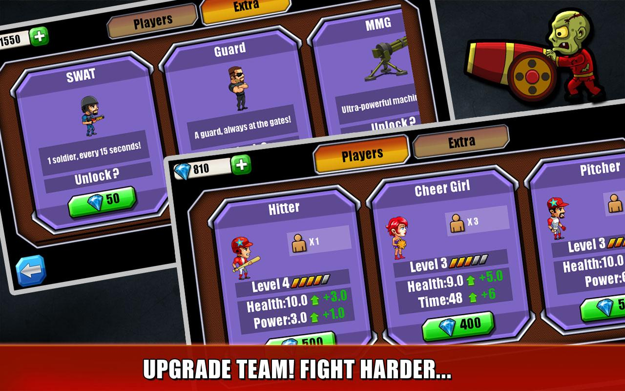 Baseball Vs Zombies Returns- screenshot