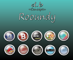 Screenshot of Rooundy icons packs