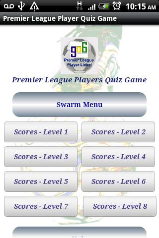 Premier League Players Quiz- screenshot