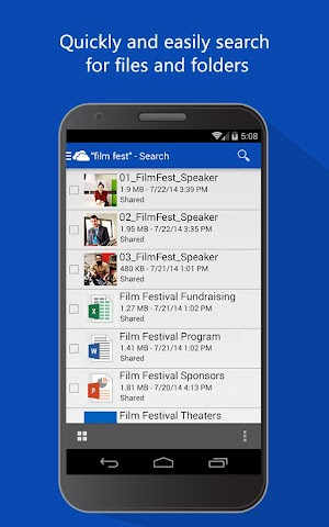 android OneDrive Screenshot 6