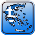 Map of Greece icon