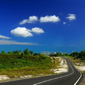by Alan Fadlansyah - Landscapes Travel ( warna biru langit, fadlansyah )
