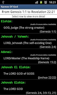 Names Of God - screenshot thumbnail