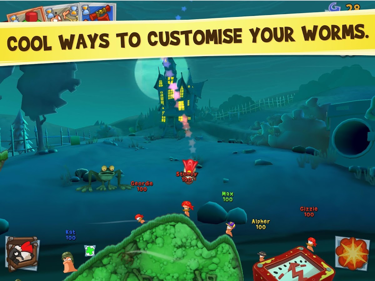 Worms 3- screenshot