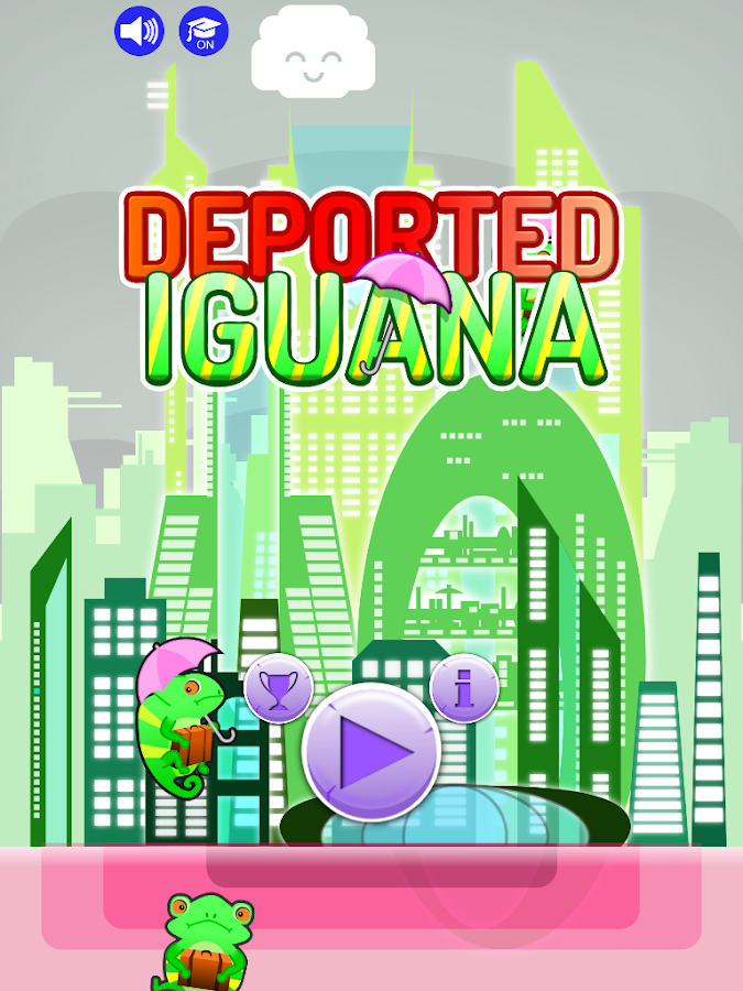Deported Iguana- screenshot