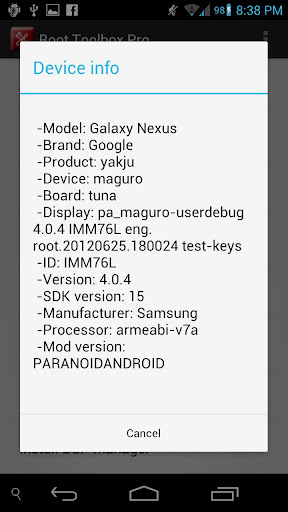 Root Toolbox PRO v2.2.0 APK