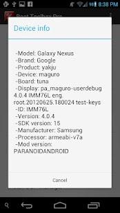 Root Toolbox PRO - screenshot thumbnail