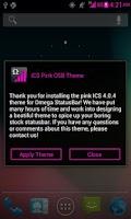 Screenshot of ICS Pink OSB Theme