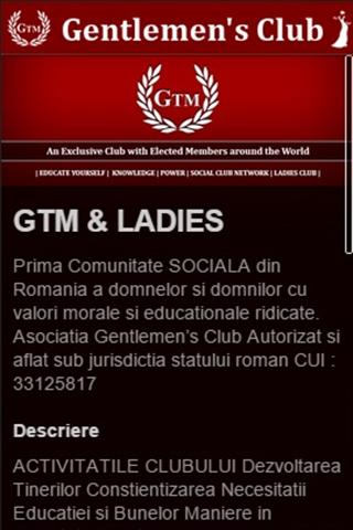 Gentlemen's Club - Social Club