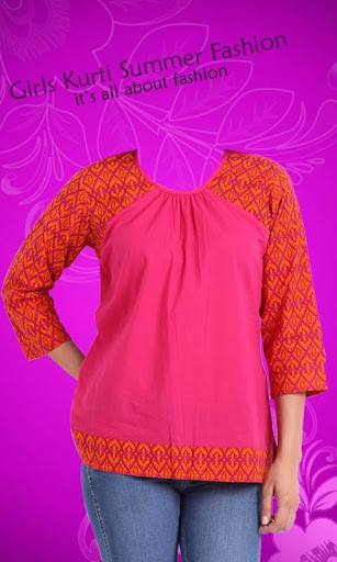 Girls Kurti Summer Fashion