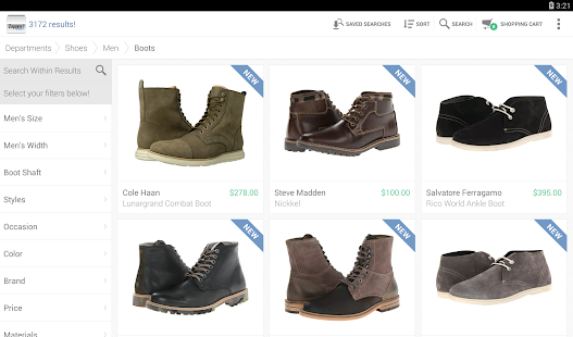 Zappos: Shoes, Clothes, & More Screenshot 14