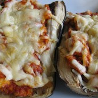 Crabmeat Stuffed Eggplant.