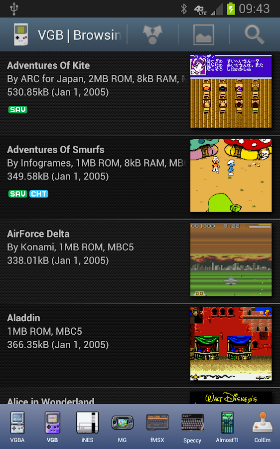 vgb gameboy gbc emulator for android