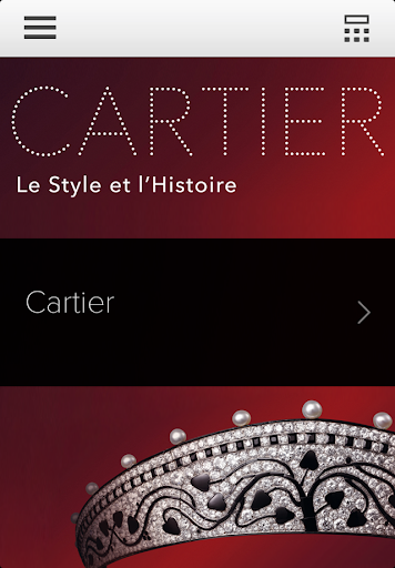 Cartier the audioguide