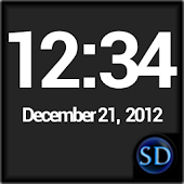 SD DigiClock Widget