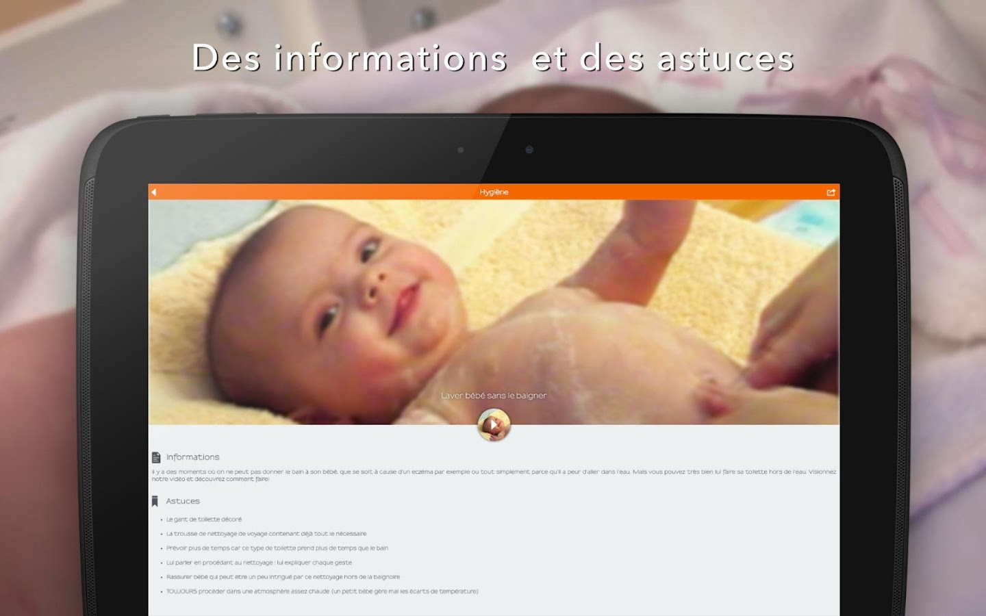 Elever Bébé- screenshot