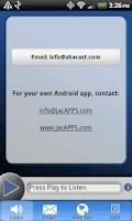 Screenshot of Abacast Mobile Streaming