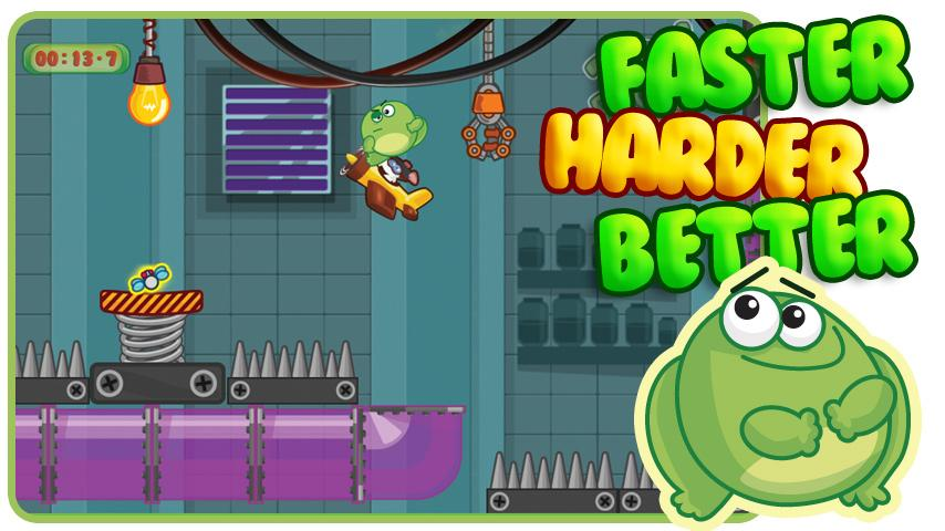 Toad Escape Free Platform Game - screenshot