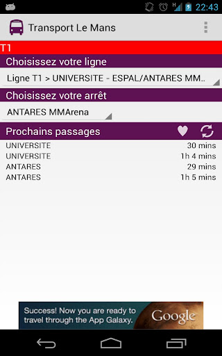 【免費交通運輸App】Transport Le Mans-APP點子