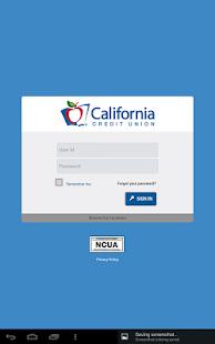 California Credit Union- screenshot thumbnail