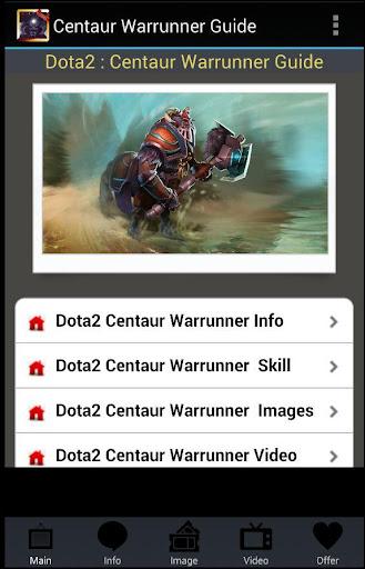 【免費媒體與影片App】Centaur Warrunner Guide-APP點子