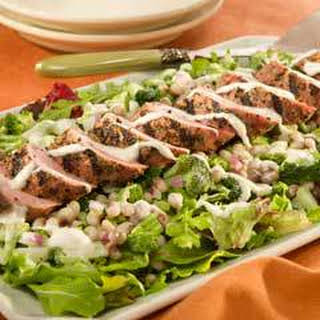 Southern Pork & Black-eyed Peas Ranch Salad.