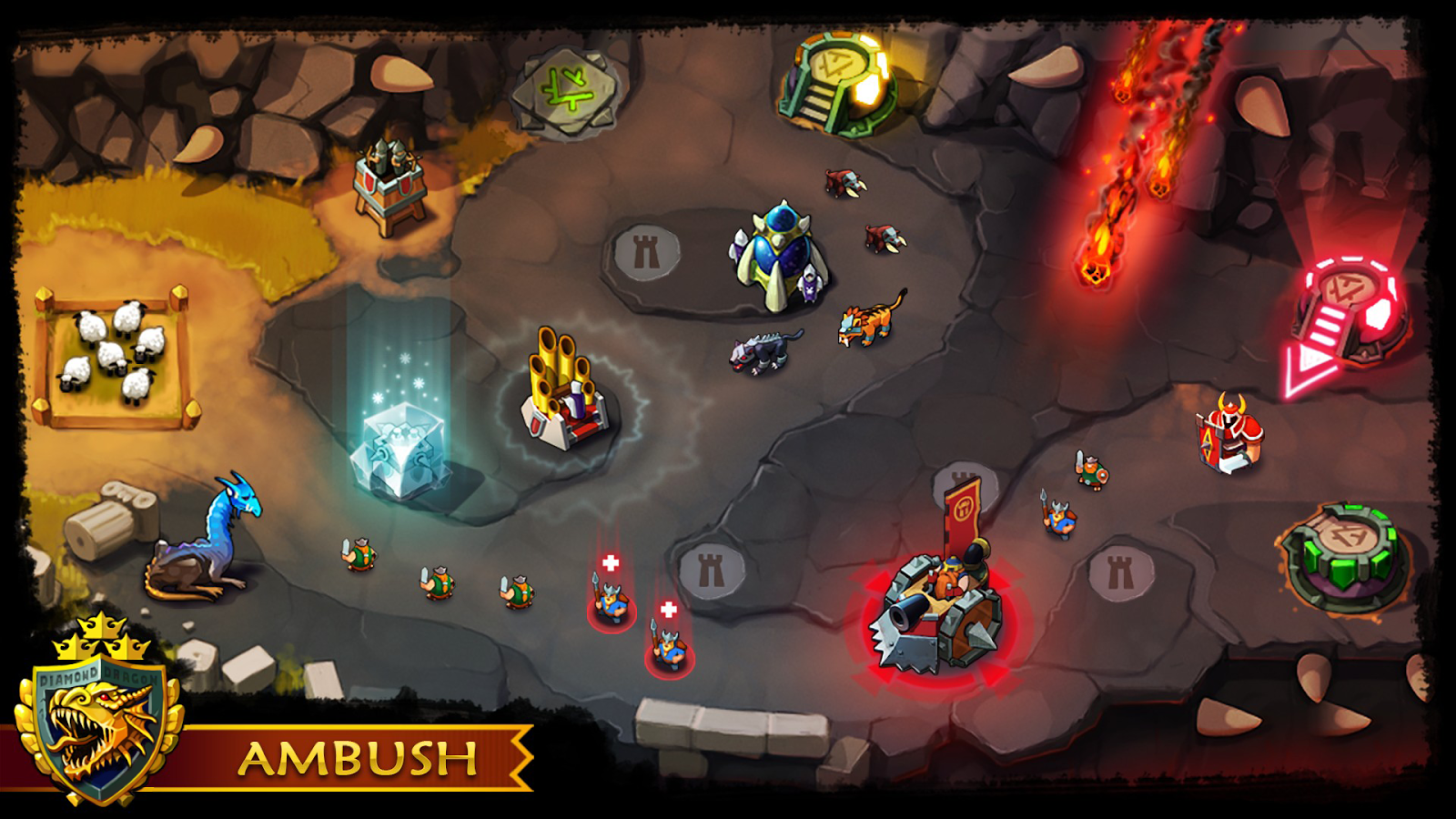 Ambush! - Tower Offense- screenshot