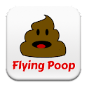 Flying Poop Game icon