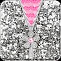 ♥ Flower Zipper Lock Screen ♥ icon