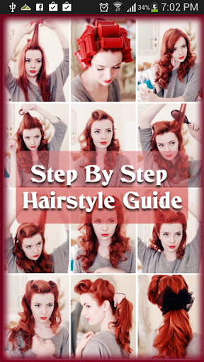 Step By Step Hairstyle Guide