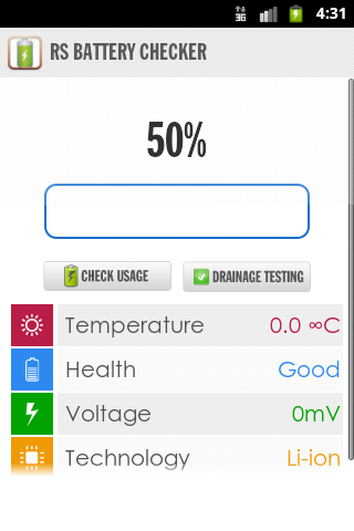 RS Battery Checker Pro