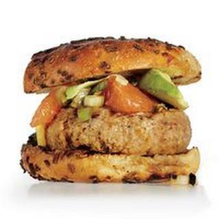 Citrus-Stacked Pork Burger