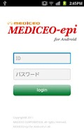 Screenshot of MEDICEO-epi for Android