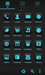 Cyrix GO Holistic Theme - screenshot thumbnail