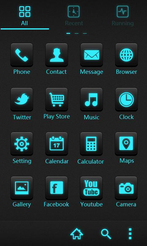 Cyrix GO Holistic Theme - screenshot