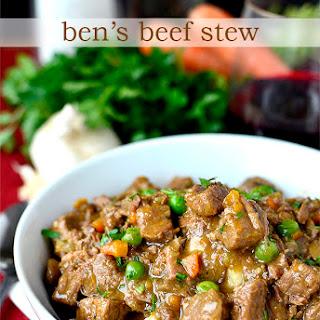 Ben's Beef Stew
