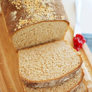 Whole Wheat Honey Oatmeal Bread.