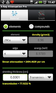 玩免費醫療APP|下載X-Ray Attenuation Calc. Free app不用錢|硬是要APP