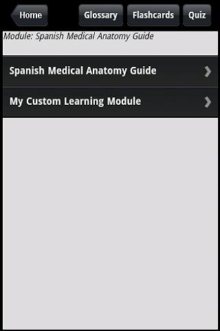Spanish Medical Anatomy Guide