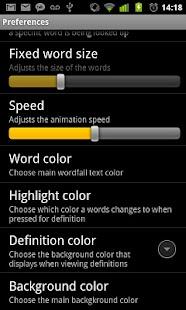 Wordfall- screenshot thumbnail